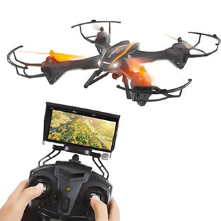 Serenelife Predator Drone Fpv Wifi, 2.4g 4 Canales 6-gyro Qu