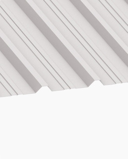 Chapa Plástica Trapezoidal - 1,10 X 6,5mts