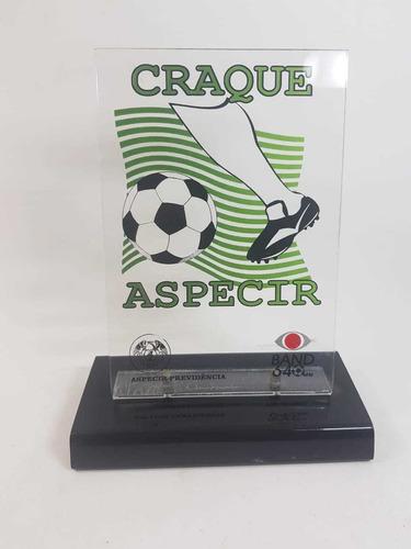 Troféu Craque Do Jogo Aspecir Brasileirão Original