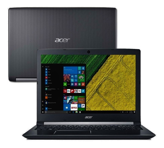 Notebook Acer A515-51-51ux Tela 15.6 Intel I5 4gb 1tb Ssd256