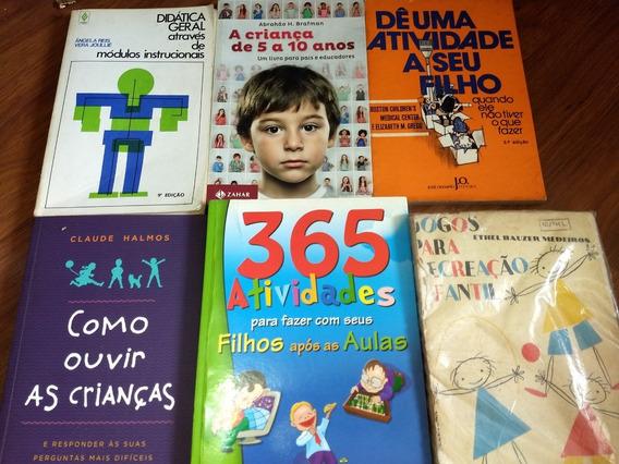 6 Livros Sobre Crianças Criação De Filhos E Desenvolvimento