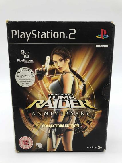 Tomb Raider Anniversary Playstation 2 Ediçao Colecionador