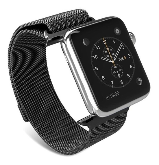 Extensible Correa Milanese Para Apple Watch Serie 1 2 3 4