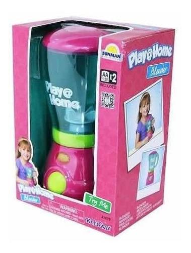 Licuadora Para Niñas  Funciona De Verdad Con Luz Play Home