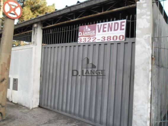 Casa Com 3 Dormitórios À Venda, 185 M² Por R$ 340.000 - Vila Teixeira - Campinas/sp - Ca11795