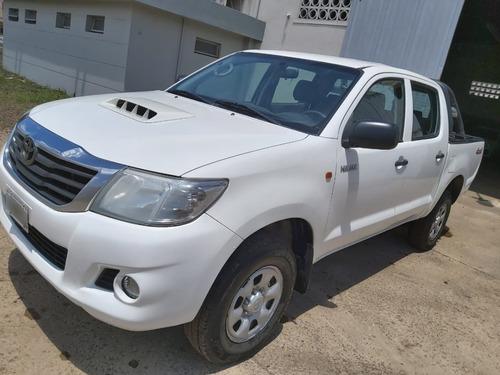 Toyota Hilux Dx Pack 4x4 2015 Blanca