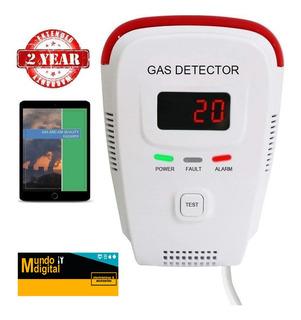 Detector Fuga De Gas Metano, Butano, Glp, Gnl Envio Gratis