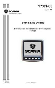 Display Motor Scania Di - 12 Ems Descrição De Funcionament