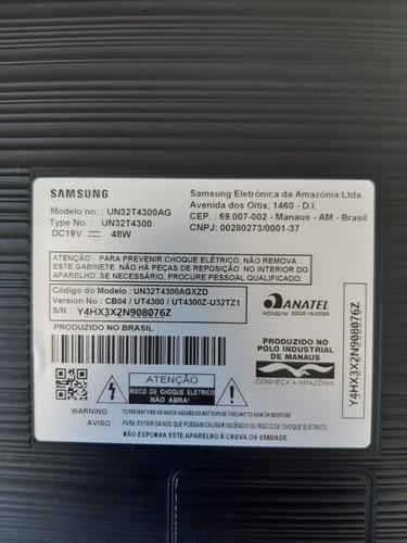 Imagem 1 de 3 de Samsung Smart Tv Tizen T4300 32  Hdr - Display Com Defeito