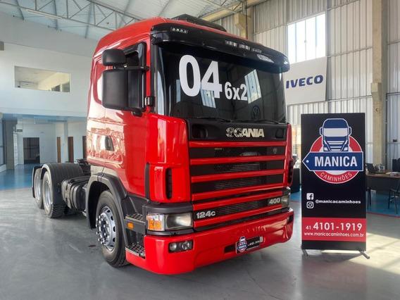 Scania 124 R400 6x2 2004 Evolução