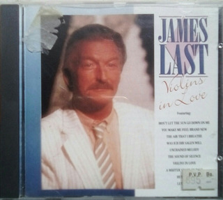 Cd James Last Violins In Love 1989