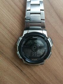 Relógio Casio Ae-1100w - Pulseira Em Alumínio