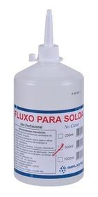 Kit 5 Fluxo De Solda Liquido 500 Ml No Clean Implastec