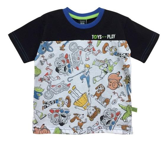 Playera De Buzz Y Woody Con Personajes Para Niño Oficial