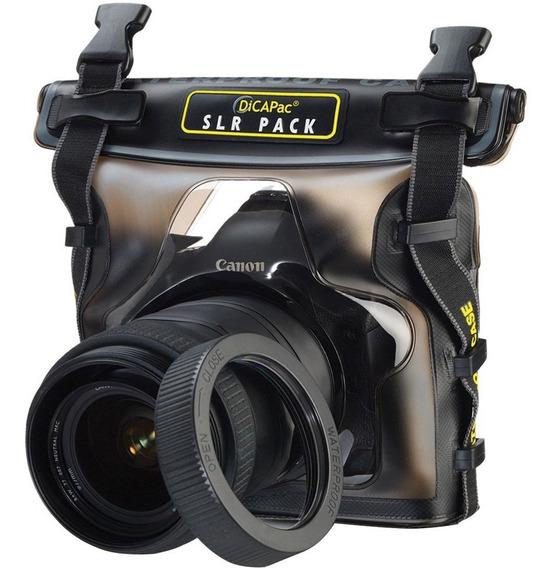 Capa Aquática Estanque Dicapac Wp-s10 P/câmeras Dslr Grandes