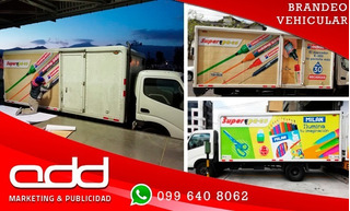 Brandeo De Vehiculos, Publicidad Vehicular, Recubrimiento De