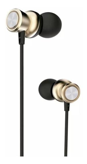 Fone De Ouvido Premium Gold Com Microfone Prc12gd Elg