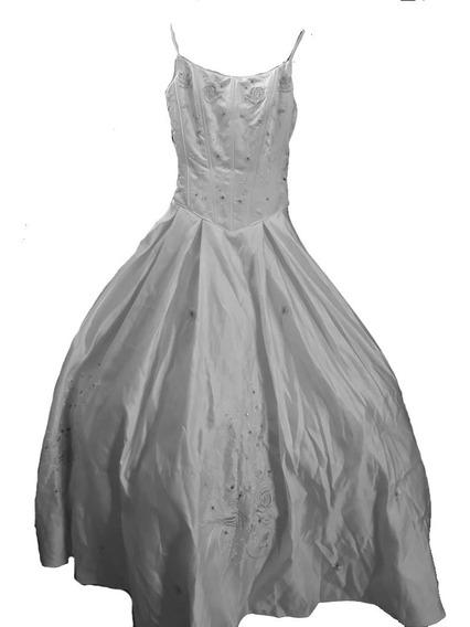 Vestido De 15 Años ( Comprado En Chicago ) Pedrería Fina