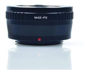 Anel Adaptador Lente M42-fx Fuji X-pro1 X-e1 X-e2 X-m1 X-a1