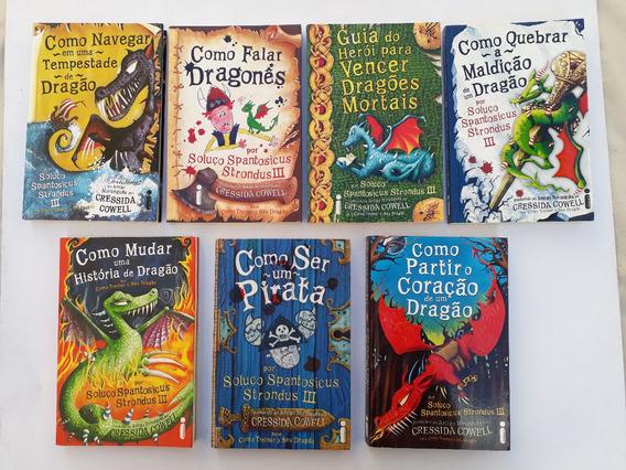 História De Dragão Dá Serie Cressida Cowell 7 Livros