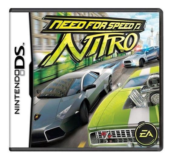 Need For Speed Nitro Ds Mídia Física Pronta Entrega
