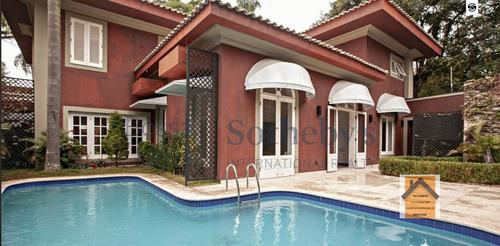 Casa A Venda No Bairro Jardim Guedala Em São Paulo - Sp.  - Vpmoru-1