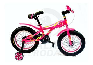 Bicicleta Para Niños Fat Ruedas Anchas Rodado 16 Sbk O1