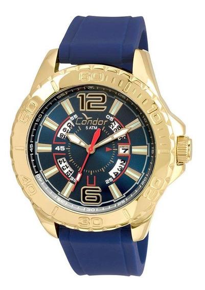 Relógio Condor Masculino Civic Co2315bd/2a - Azul