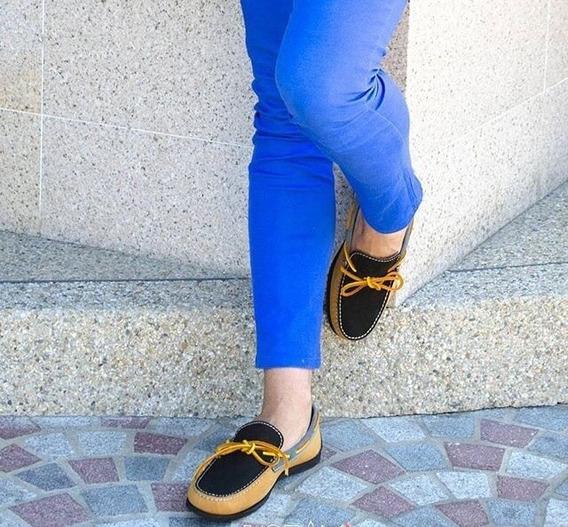 Zapato Hombre Mocasin Bottier Cuero