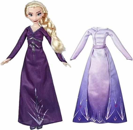 Muñeca Articulada Frozen 2 Modas De Arendelle Hasbro E5500