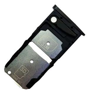 Bandeja Porta Sim Chip Single Moto Z3 Play Garantizado Calid