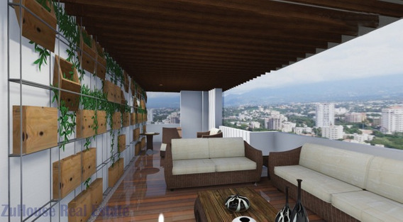 Penthouse Con Estupenda Vista En Lujosa Torre Wpa111 E