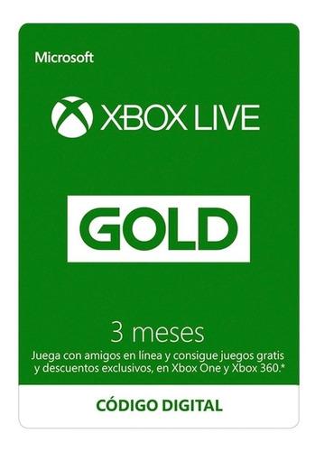 Imagen 1 de 1 de Membresia Xbox Live De 3 Meses ¡¡envio Email!!