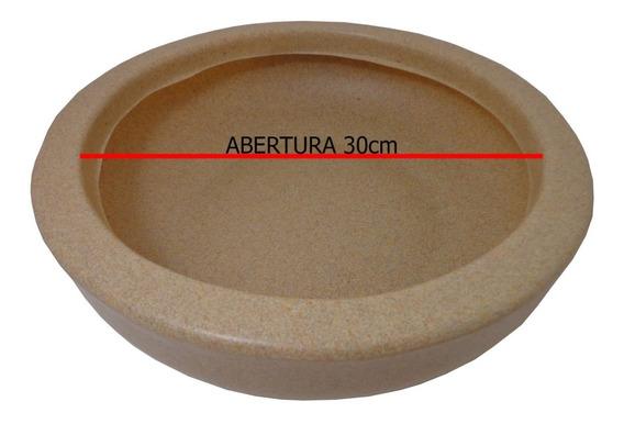 Vaso De Plastico Bacia Pequena Planta De Polietileno Bege