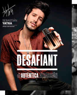 Liquido! Perfume Hombre Sebastian Yatra Desafiant