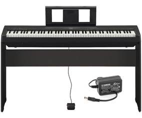 Piano Digital Yamaha P45 + Fonte + Sustain + Estante L85