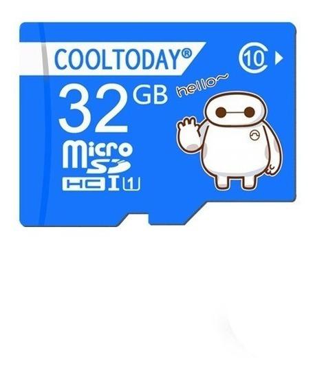 Cartao Memoria Micro Sd Card 32gb Classe 10 U1 Cooltoday
