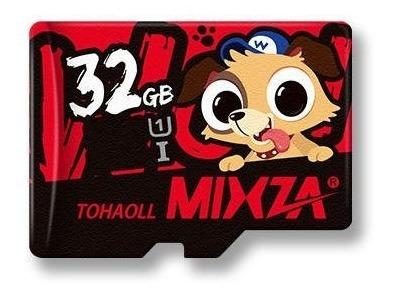 Cartão De Memória 32gb Mixza Tf Micro Sd Hc Uhs-1 Classe 10