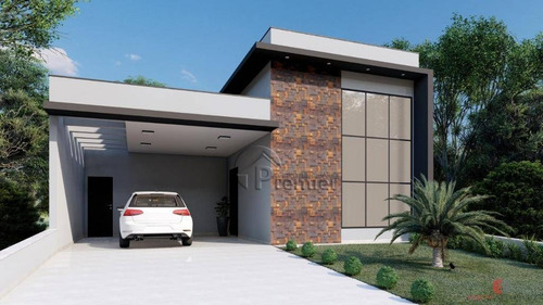 Casa Com 3 Dormitórios À Venda, 170 M² Por R$ 950.000,00 - Residencial Viena - Indaiatuba/sp - Ca2293