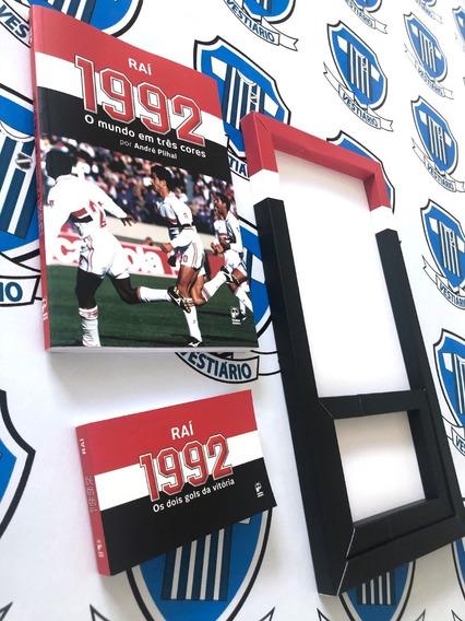 Livro São Paulo Do Raí + Flip Com Os Gols Do Mundial De 1992