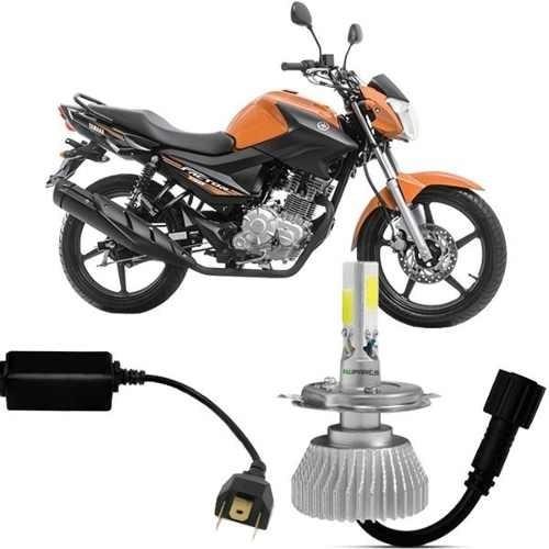 Super Led Moto Yamaha Factor 150 Lampada H4 2200lm 2d 6000k