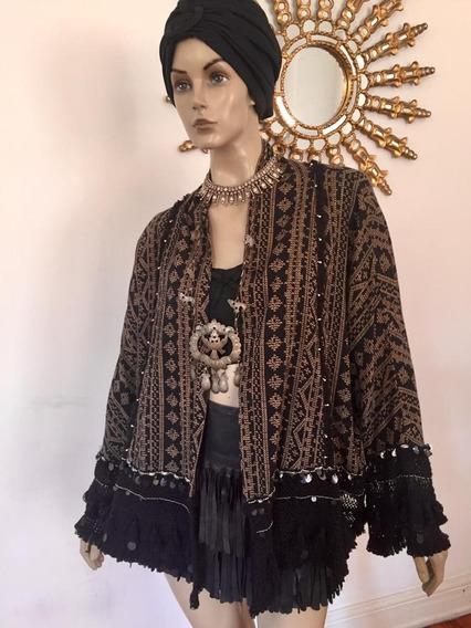 Saco Kimono Zara, Rapsodia, Estilo Boho