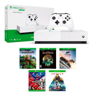 Consola Xbox One S All-digital 1 Tb 4k Hd Gtia Oficial