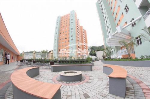 Imagem 1 de 26 de Apartamento No Residencial Magnus Park, No Bairro Garcia, Contendo 2 Dormitórios, Banheiro Social, Sala De Estar E Jantar Em Ambiente Integrado, Cozinha, Área De Serviço E 1 Vaga De Garagem. - 357117