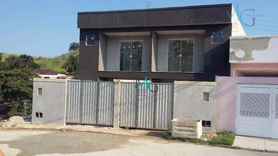 Casa 2 Quartos, 2 Suítes, No Bairro Jardim Silvestre, Em Campo Grande, Rj - Ca0054