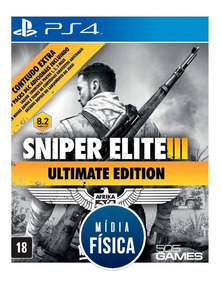 Jogo Sniper Elite 3: Ultimate Edition Ps4 [ Game Lacrado ]