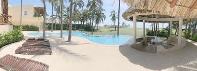 Cad Tres Vidas Casa Mandala Hermosa Casa Sobre Fairway Con Jardín Y Alberca. Vista Al Mar