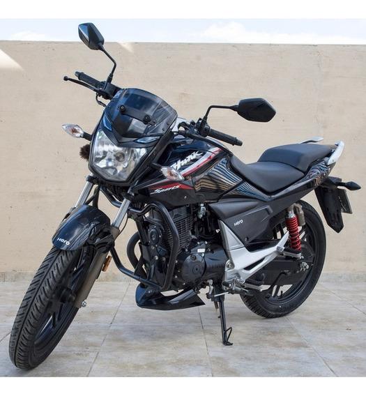 Moto Hero Hunk 150 Sport Año 2019 Oferta Pocos Kilómetros