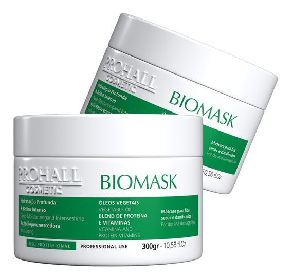 02 Mascaras Biomask De Hidratação Profunda 300g Prohall