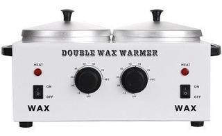 Fundidor Doble De Cera Para Depilar Double Wax Warmer Envíog
